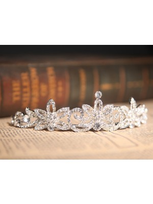 Gorgeous Clear Kristal Flower Wedding Party Headpiece