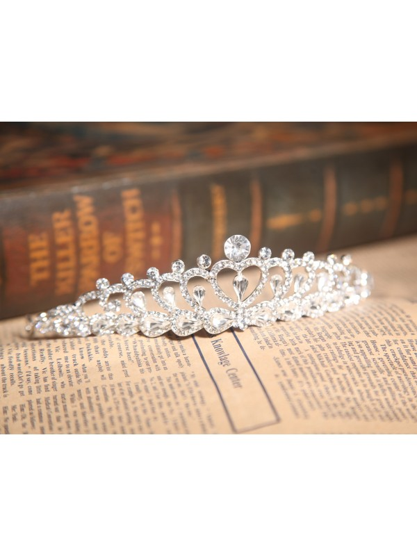 Alloy With Czech Rhinestones Wedding Headpieces