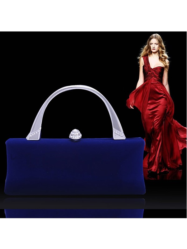 Fashion Bergkristal Flock Party/Evening Bag