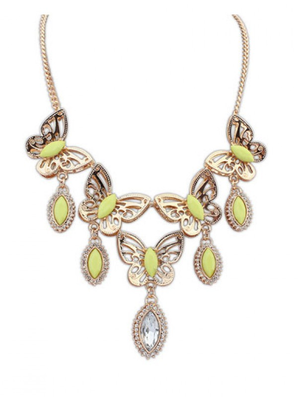 Occident Stylish Butterfly Tears Boutique Fashion Ketting