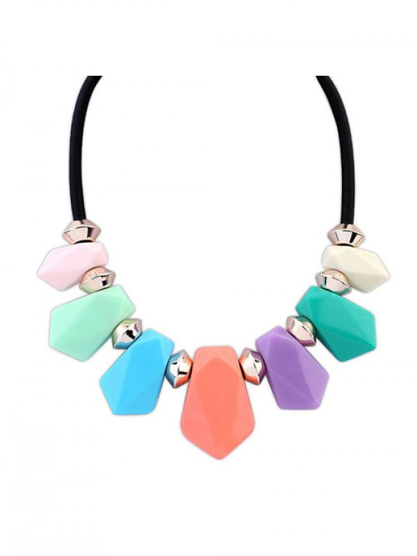 Occident Street shooting all-match Geometry Temperament Fashion Ketting
