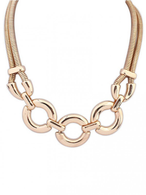 Occident Punk Major suit Street shooting Fashion Ketting