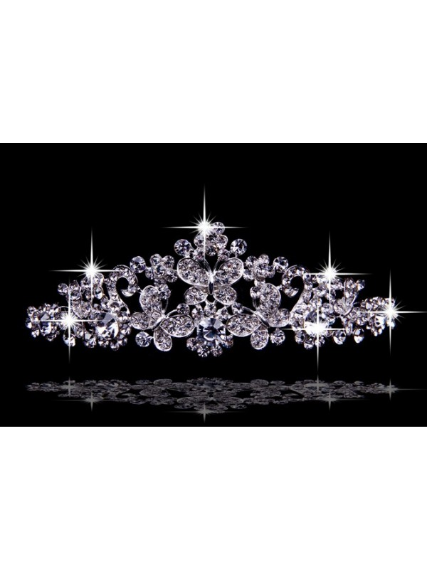 Trendy Czech Rhinestones Wedding Headpieces