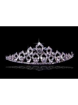 Glamorous Alloy With Czech Bergkristals Wedding Party Headpiece