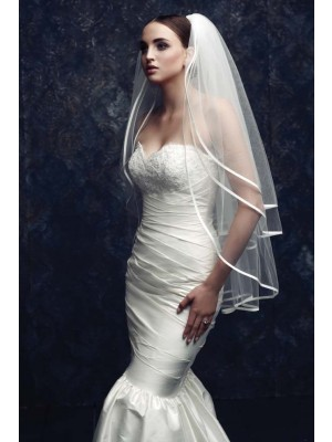 Gorgeous 3 Layer Tule Bridal Sluiers