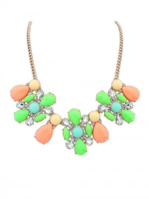 Occident Street shooting Collision color Exquisite Simple Fashion Ketting