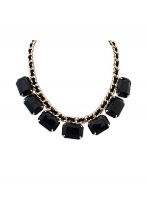Occident Simple Blocks All-match New Fashion Ketting