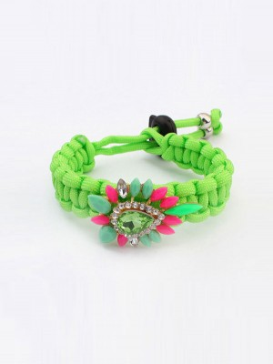 Occident Ethnic Customs Woven Colorful Fashion Armbanden